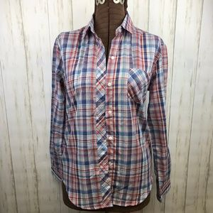 Pierre Cardin | Vintage Button Up Plaid Shirt NWT
